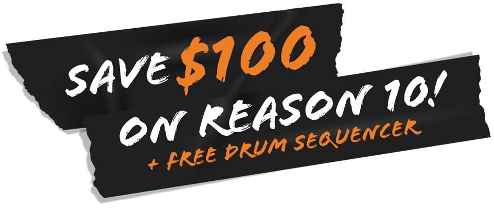 Save big on Reason 10