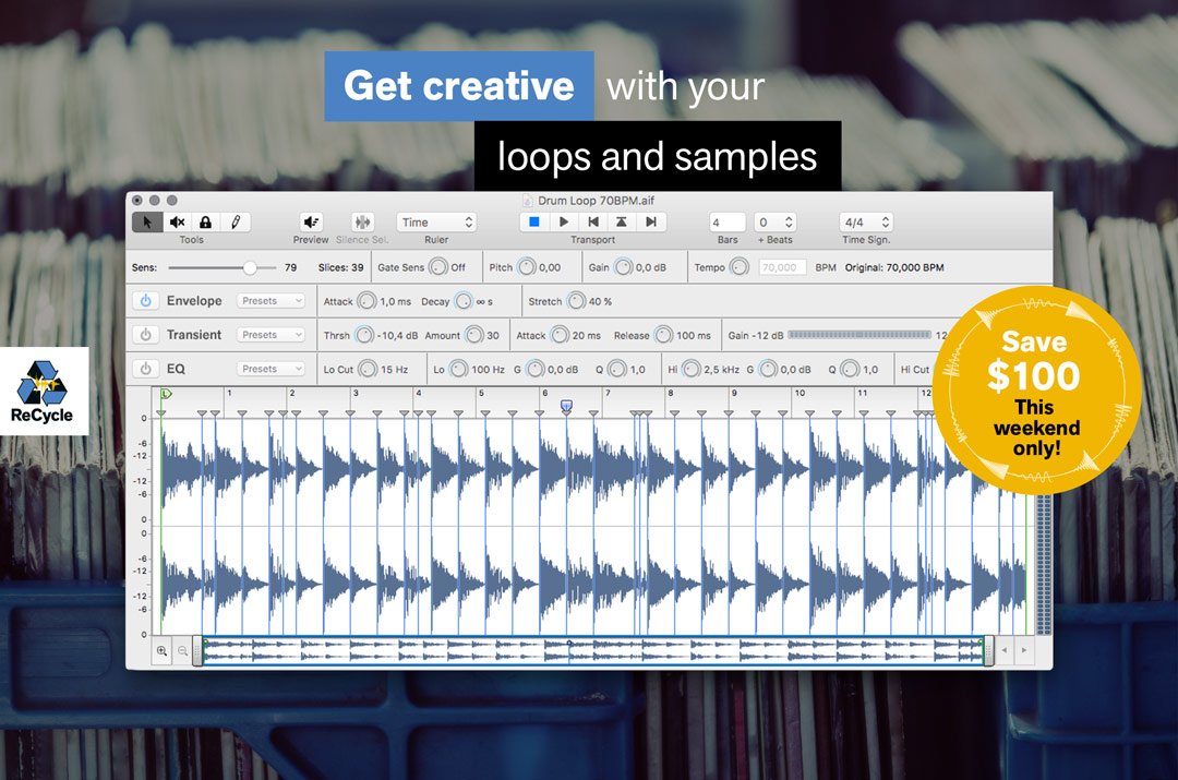 Recycle - Get creative with your loops and samples