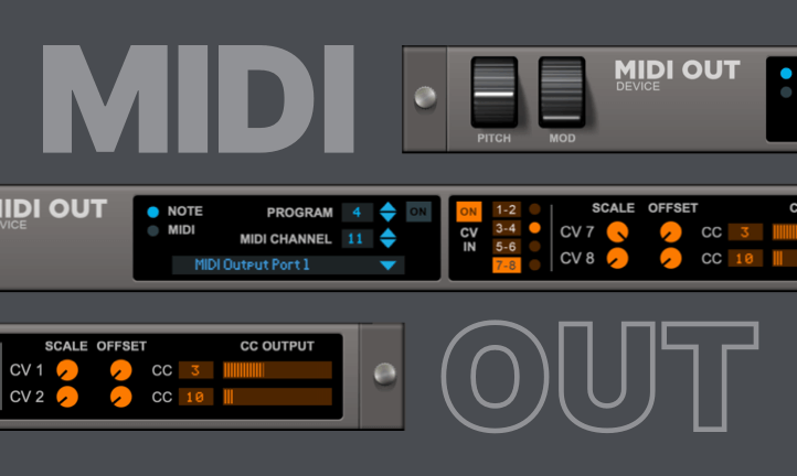 MIDI out device image