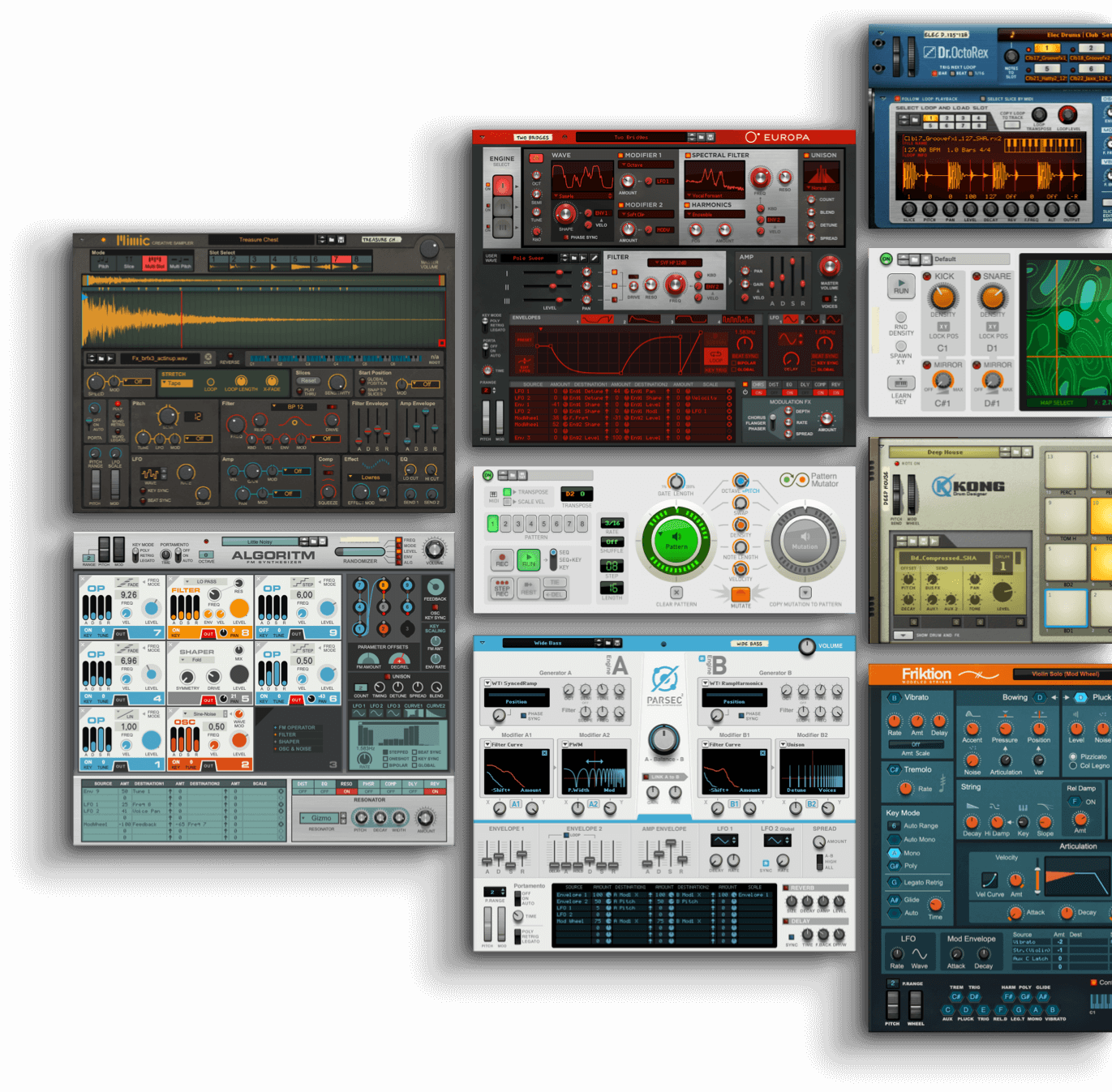 Devices collage