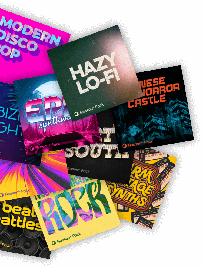 Soundpacks collage