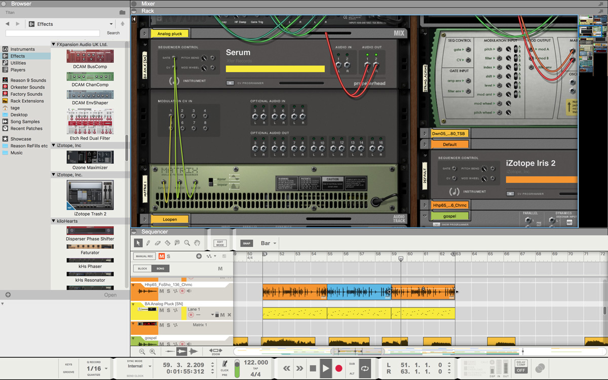 Image result for Propellerheads Reason 9.5 adds VST plugin support
