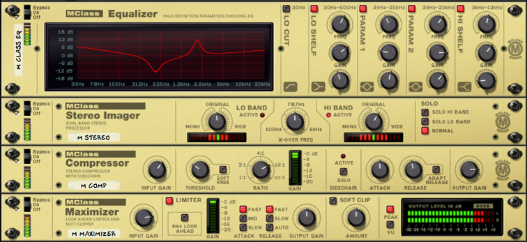 The MClass Mastering Suite | Reason | Propellerhead