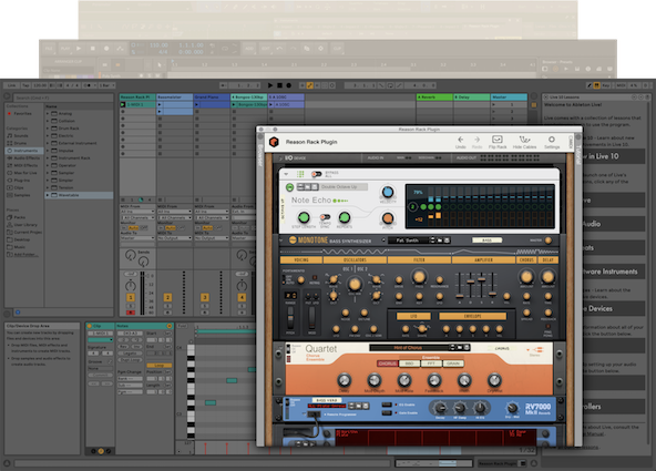 Reason Rack Plugin Ableton Live