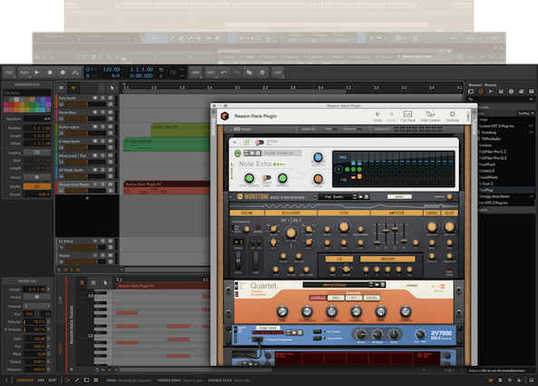 Reason Rack Plugin Bitwig