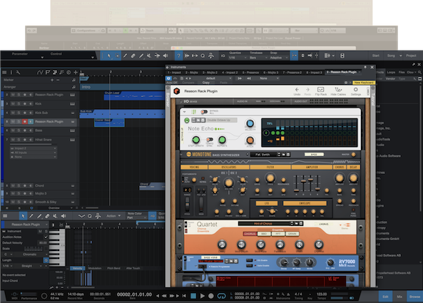 Reason Rack Plugin Studio One