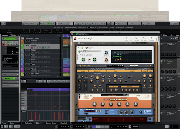 Reason Rack Plugin Cubase