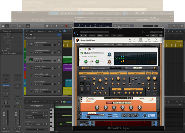 Reason Rack Plugin Logic Pro X