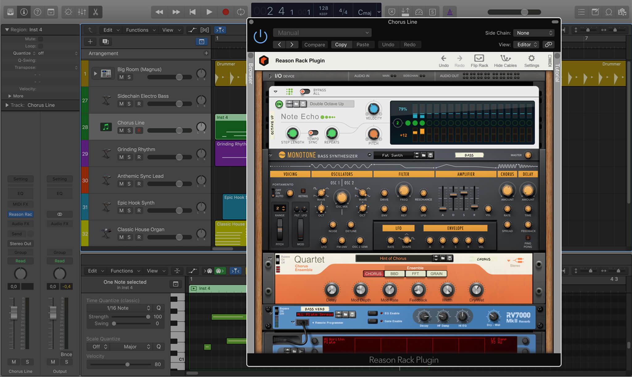 Reason Rack Plugin for Logic Pro X