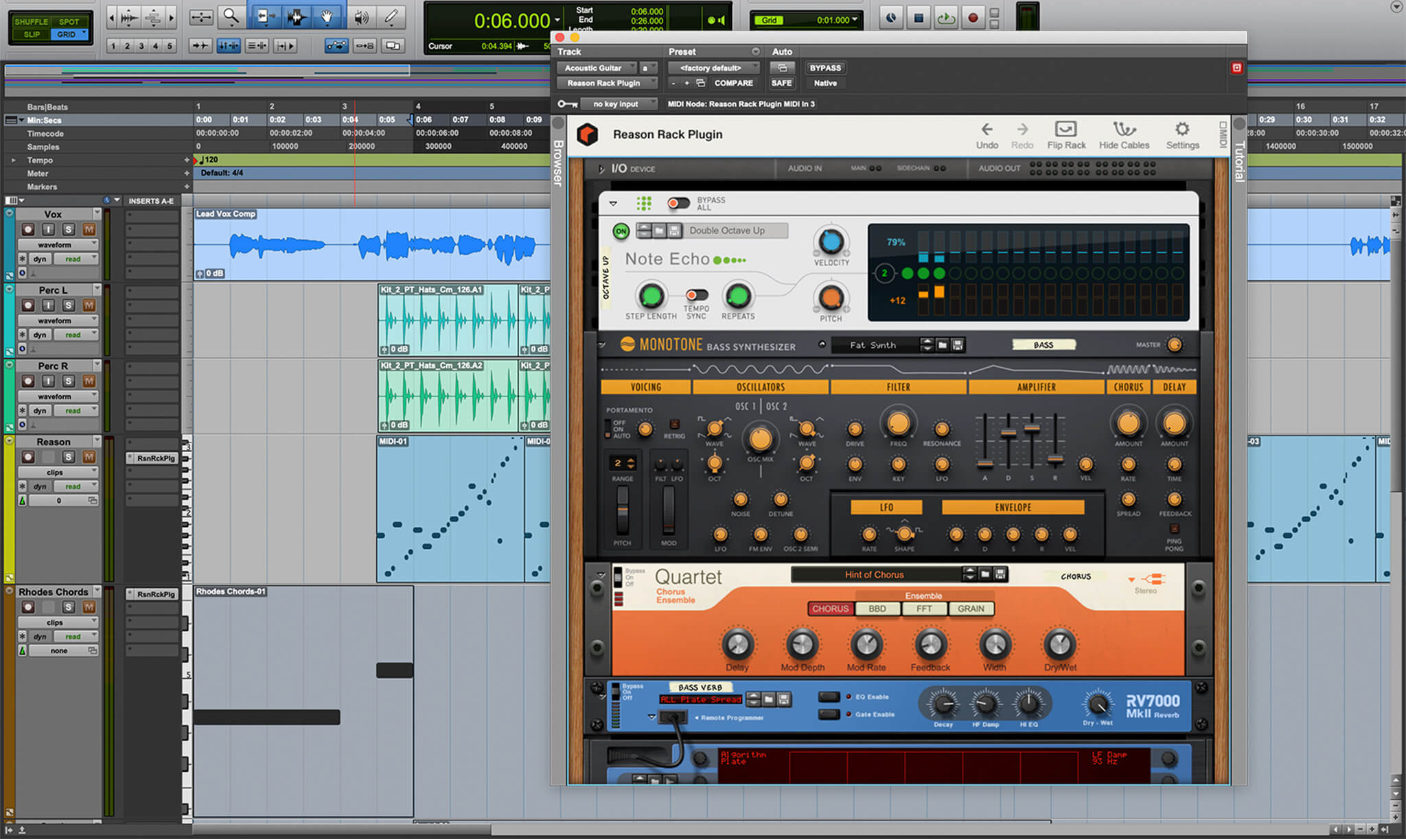 Reason Rack Plugin for ProTools