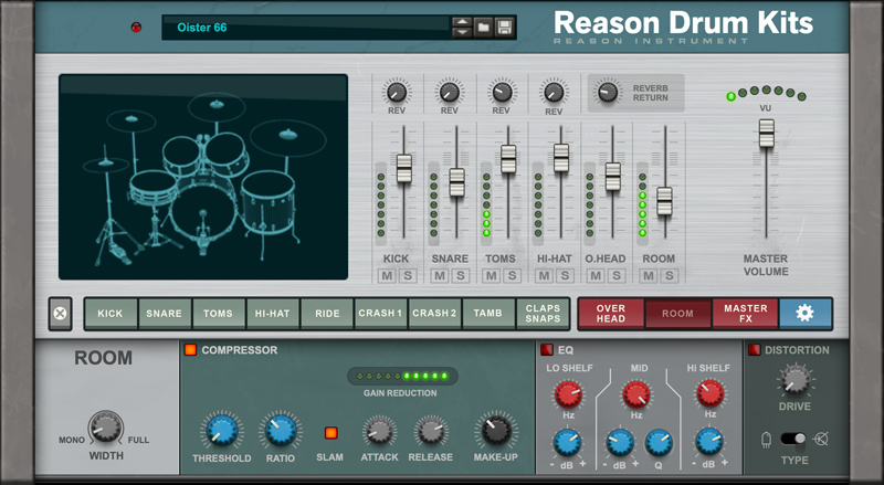 Reason Drum Kits
