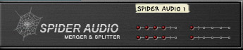 Spider Audio Merger & Splitter