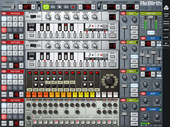 propellerhead rebirth  windows 7